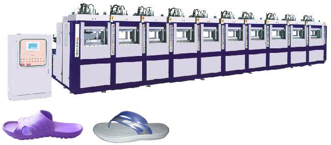 Proposal for EVA Slipper Machine