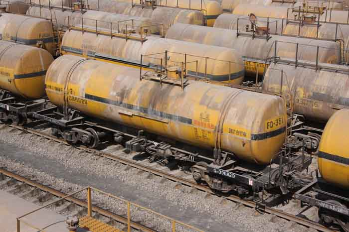 G11 acid and alkali tank wagon