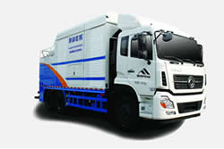 Sewage Suction and Cleaning Truck